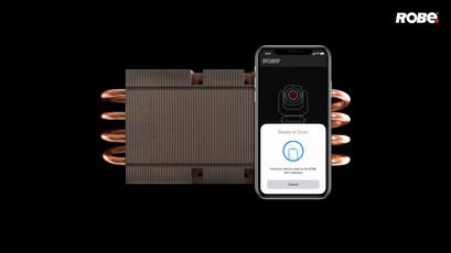 Контроллер и приложение Robe NFC